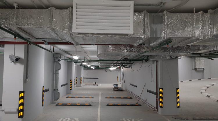 Вентиляция на подземных автостоянках