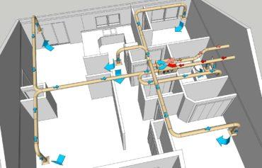 Проектирование приточной вентиляции